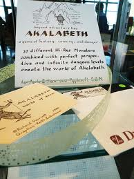 akalabeth-and-paper-tape
