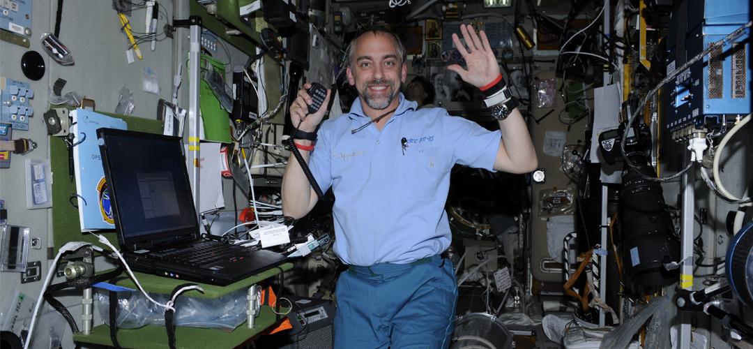 Resultado de imagen de ISS HAM RADIO